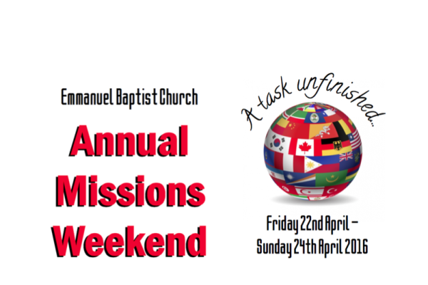 Missions weekend